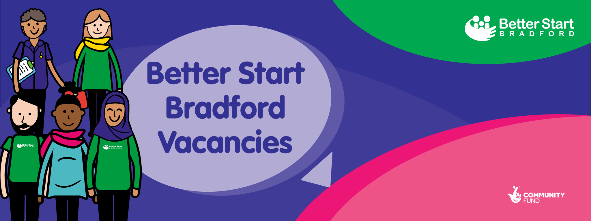 Better Start Bradford vacancies